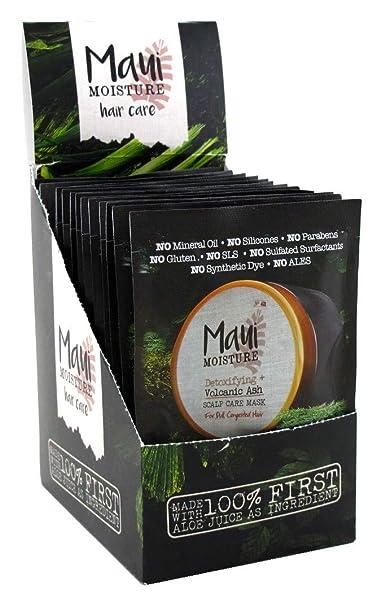 Amazon.com : Maui Moisture Volcanic Ash Hair Mask 1.7 Ounce ...