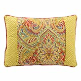 WAVERLY Swept Away Decorative Pillow, 14''x20'', Berry