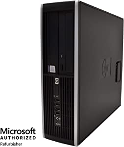 HP Elite Desktop Computer PC - Intel Core i5 3.1GHz, 4GB RAM, 250GB Hard Drive, DVD-RW Drive, WiFi, HDMI, Bluetooth Adapter, Windows 10 (Renewed)