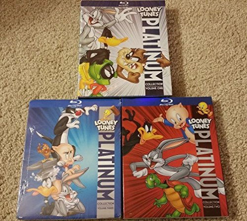 LOONEY TUNES Platinum Collection Vol. 1, 2, 3 (8-disc Blu-ray) [Authentic US Release] (Looney Tunes Platinum Collection Volume 3 Blu Ray)