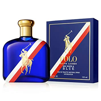 Ralph Lauren Polo Red White   Blue Eau de Toilette Spray 125 ml, 1er Pack cbb255c66a23