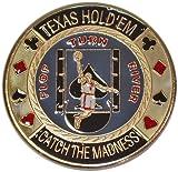 Trademark Basketball Card Guard Poker Button (Multi)
