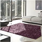 superior elegant shag rug plush and cozy hand tufted area rugs chic and eyelash shag rug with cotton backing 5u0027 x 8u0027 rug purple safavieh