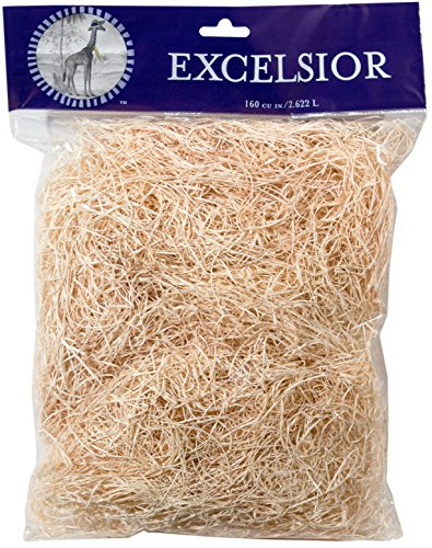 SuperMoss (15750) Aspen Wood Excelsior, Natural, 4oz Bag