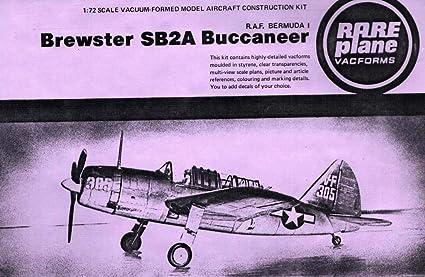 Amazon.com: Rare Plane 1:72 Brewster SB2A Buccaneer RAF ...