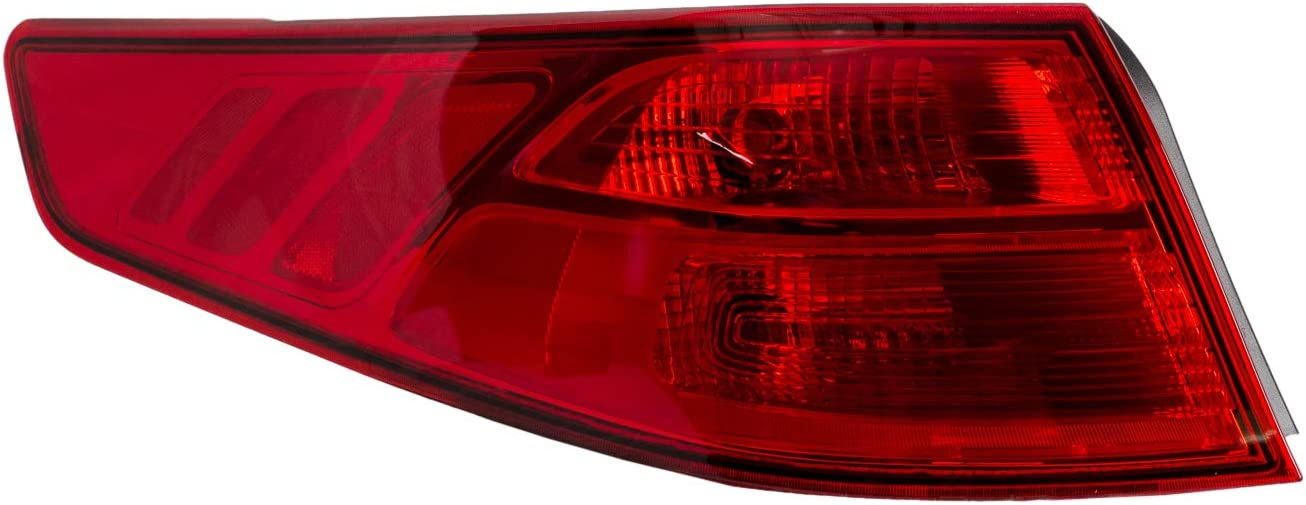 PartsChannel KI2804116OE OE Replacement Tail Light Assembly