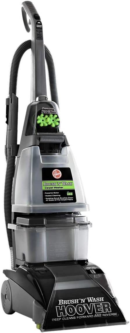 Hoover Brush 'N' Wash Carpet and Hardfloor Washer - Grey, F5916