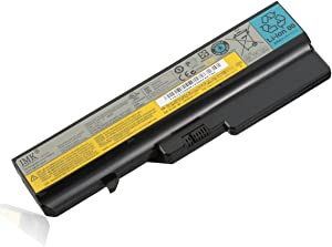 IMK Replacement Laptop Battery for Lenovo G460 G560 B570 V360 V570 IdeaPad Z560 Z565 - High Performance Li-ion Battery G460[6 Cells/4400mAh/48Wh]