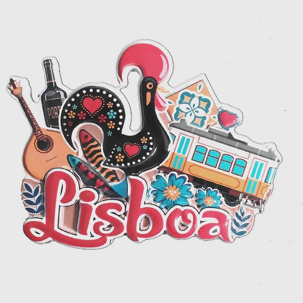 Portugal Fatima Fridge Magnet Refrigerator Sticker Country Souvenir Home Decor