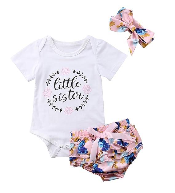 Amazon.com: Mono para bebé y niña, diseño floral: Clothing