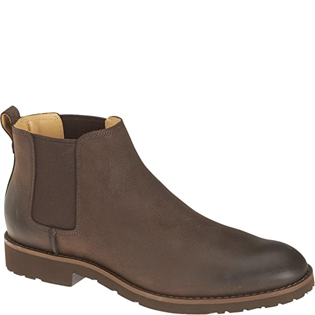 8ef3b154eaff3 Sebago Rutland Mens Chelsea Boot UK6.5 EU40 US7 Medium Brown Leather:  Amazon.co.uk: Shoes & Bags