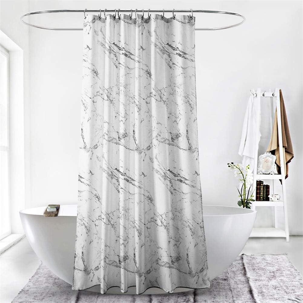 Duschvorh/änge f/ür Badewanne und Dusche in Badezimmer Anti-Bakteriell Anti-Schimmel Wasserdicht aus Polyester mit 12 Duschvorhangringen 3D Digitaldruck Ciujoy Sonnenblume Duschvorhang 180x180cm