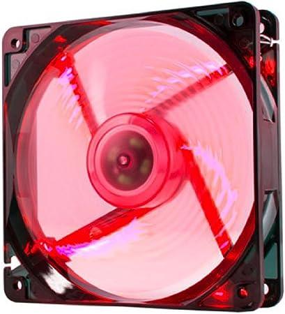 NOX Ventilador Caja Cool Fan 12 cm LED Rojo: Amazon.es: Informática