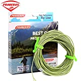 Proberos Fly Line With Weight Forward Enhanced Welded Loop Floating Fly Fishing Line (Green,3F)