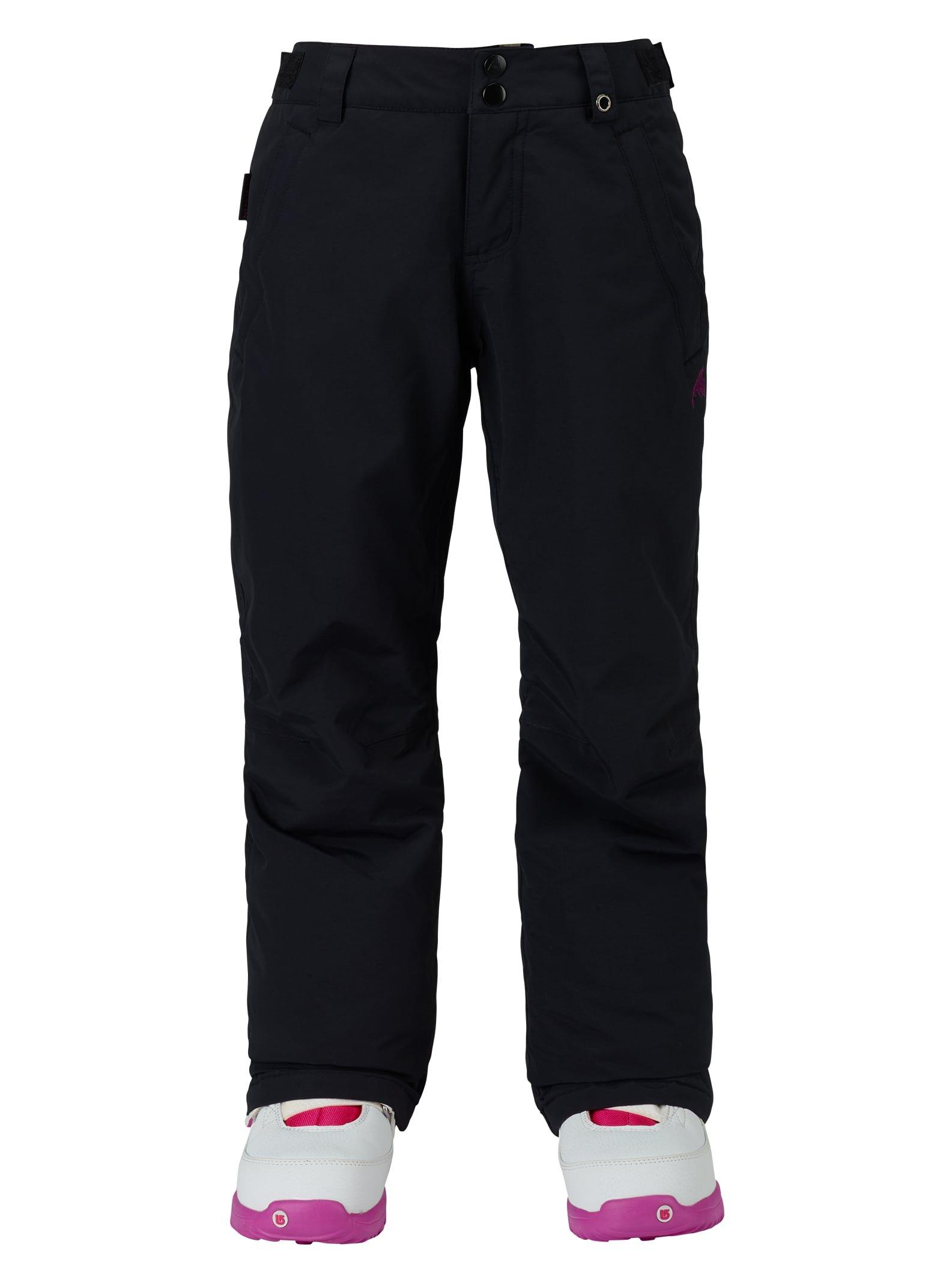 Burton Girl's Sweetart Pant, True Black 1, Medium