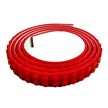Building Tape for Toys, Red Colour,1 Meter Roll in Size. Adhesive ...