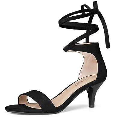 351ff3b5ec55 Allegra K Women s Lace up Black Sandals - 6 ...
