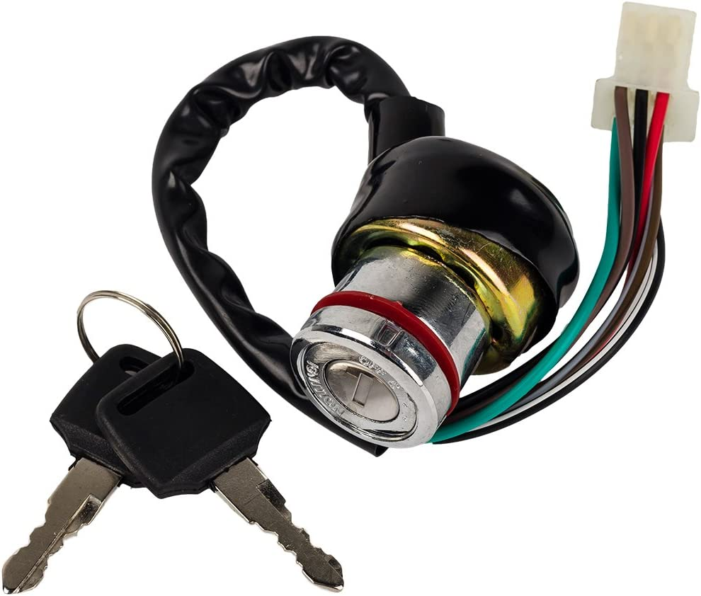 Amazon.com : HIFROM(TM Ignition Key Switch 6 Wire 50CC 70CC 90CC 110CC  125CC Falcon ROKETA ATV : Garden & OutdoorAmazon.com