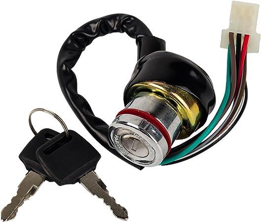 6-wire Ignition KEY Switch for KAZUMA FALCON 50CC 90CC 110CC 125cc 150cc 250CC ATV