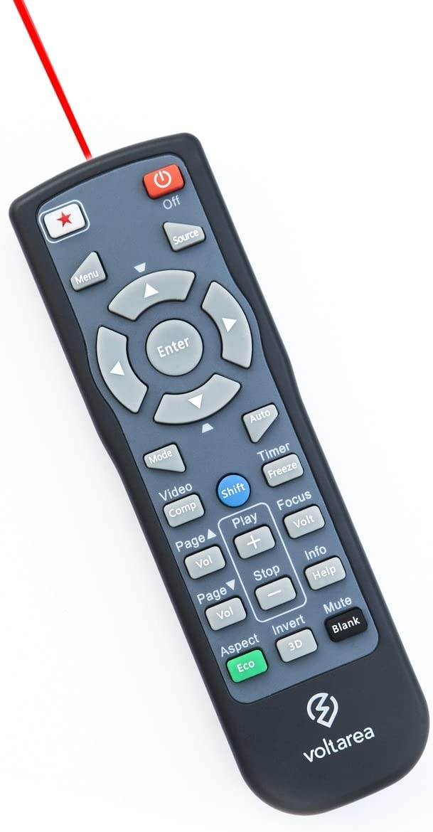 Remote Control for NEC NP4100 Projector with Laser Pointer