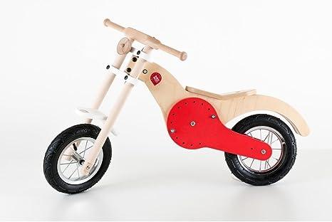 Moto Custom bicicleta sin pedales de madera made in Italy Juegos ...