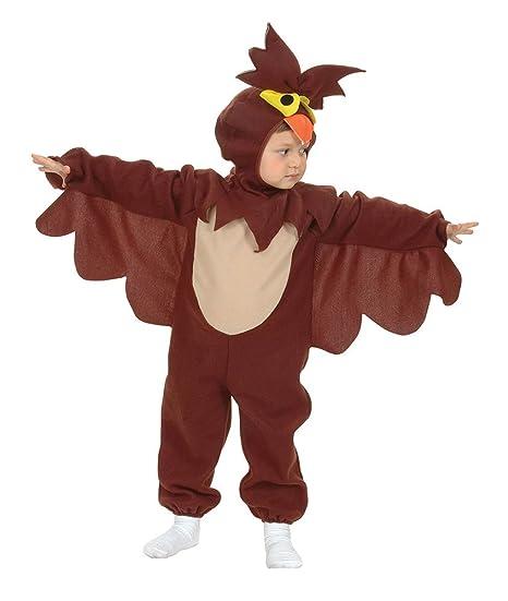 Bristol Novelty - Disfraz infantil de búho, para niños de 2-3 años