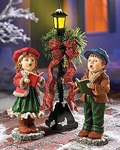 Amazon Com Whimsical Kids Singing Caroler Lighted Lamp