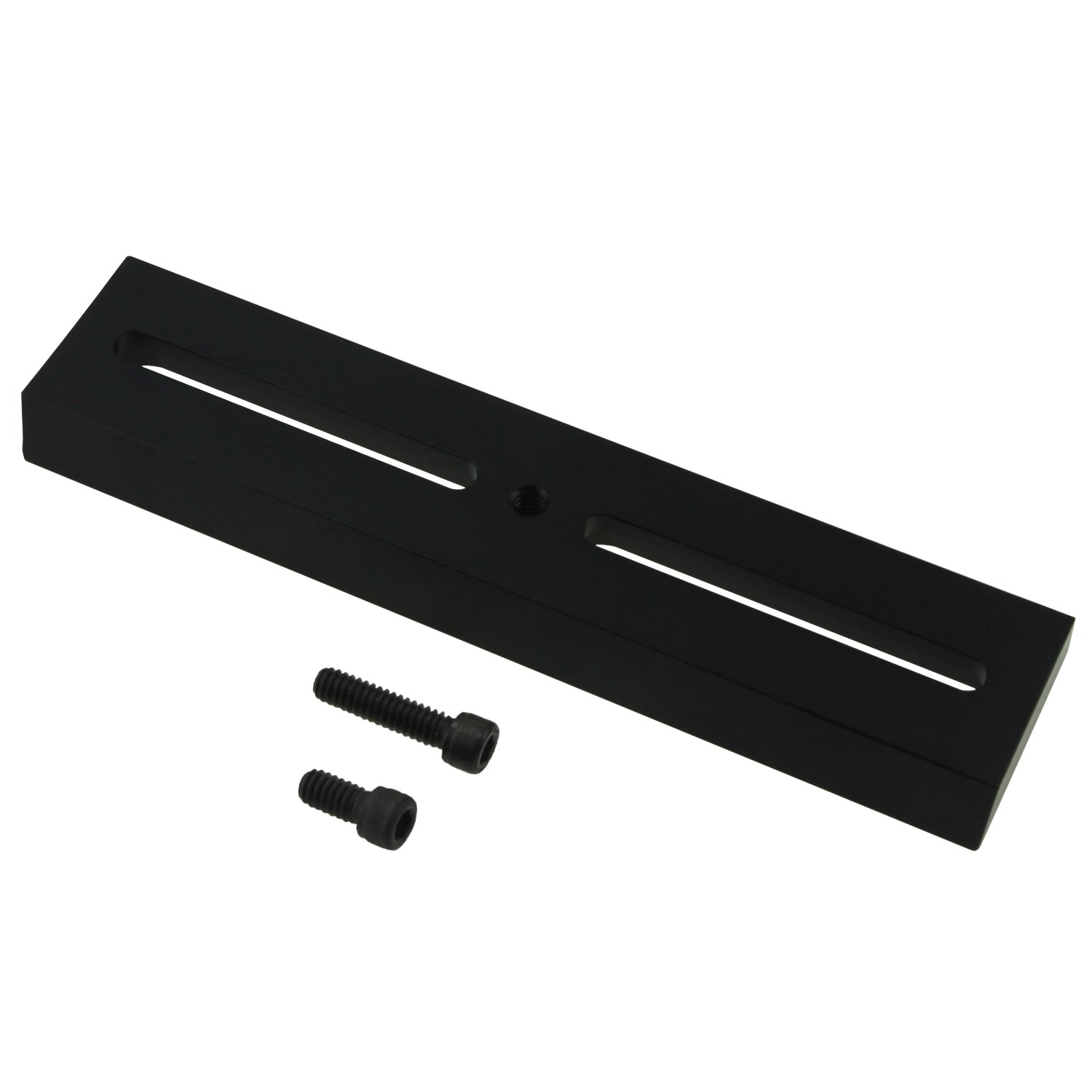 Astromania Improve Vixen Style Plate with 1/4''-20 Photo Thread - Length 180MM - used to connect cameras to astronomical mounts with Vixen/GP saddle plate