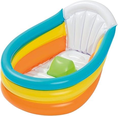 Bieco 22051134 - Bañera hinchable para ducha, jardín y balcón ...