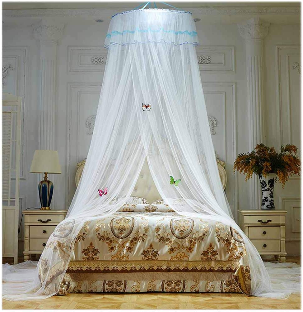 - Amazon.com: POPPAP Bed Canopy Dream Tent For Girls Bedroom