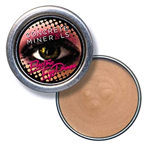 Concrete Minerals Electric Eye Primer, Longer-Lasting Eyeshadow Without Creasing, Handmade in USA