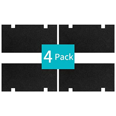 """BougeRV 4 Pack RV A/C Filters Replacement RV Air Conditioner Filter 14"""" x7-1/2 RV Accessories Comparable to Dometic 3313107.103/3105012.003: Automotive"""