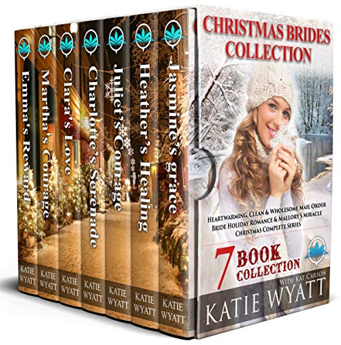 Wyatt Collection - Christmas Brides Collection : 7 Book Heartwarming: Clean & Wholesome (Mail Order Bride Holiday Romance & Mallory's Miracle  Christmas Complete Serie 1)