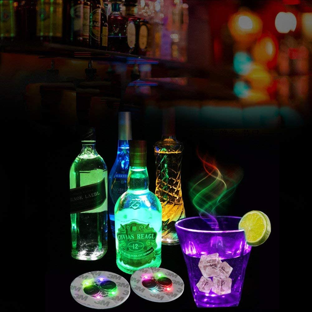 Bottlelight Lichtsticker Sticker Flaschenbeleuchtung tragbares Licht 5 Stück