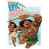 Moana Disney Hawaii Beach Princess Decoration Party Birthday Invitations Invite 24PC