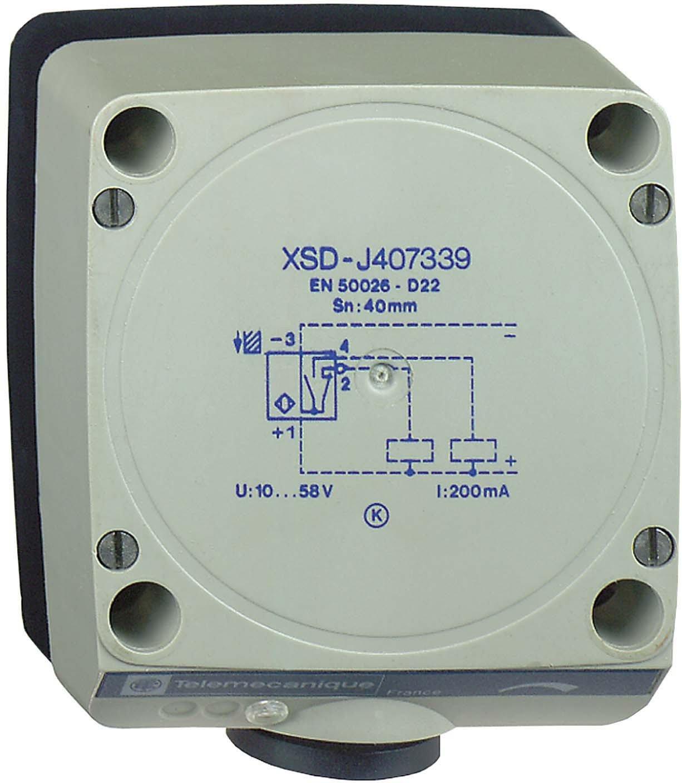 Schneider Electric XSDJ607339 Proximity Sensor 30-60mm, Inductive Sensor Xsd 80X80X40 - Plastic - Sn60Mm - 12.48Vdc - Terminals