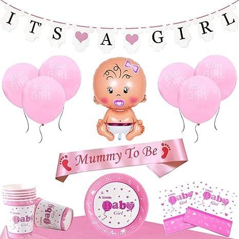 Baby Party Es ist .. es wird ein Mädchen Party Becher Shower Tisch Dekoration