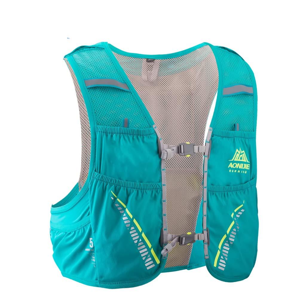 POJNGSN Hydration Pack Backpack Rucksack Bag Vest Harness Water Bladder Hiking Camping Running Race Climbing 5L ML Black 2L Bladder by POJNGSN (Image #3)