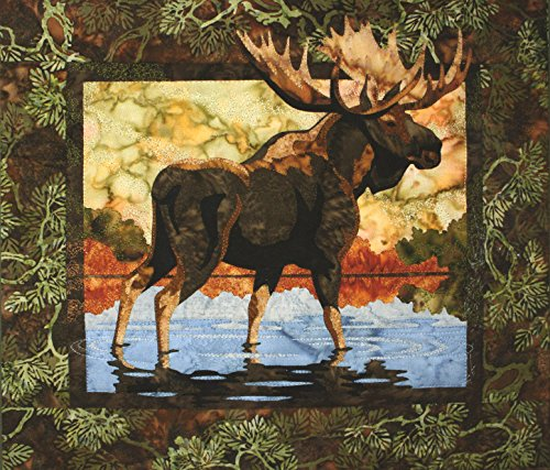 Hidden Lake Moose Toni Whitney Designs Applique Quilt Patter