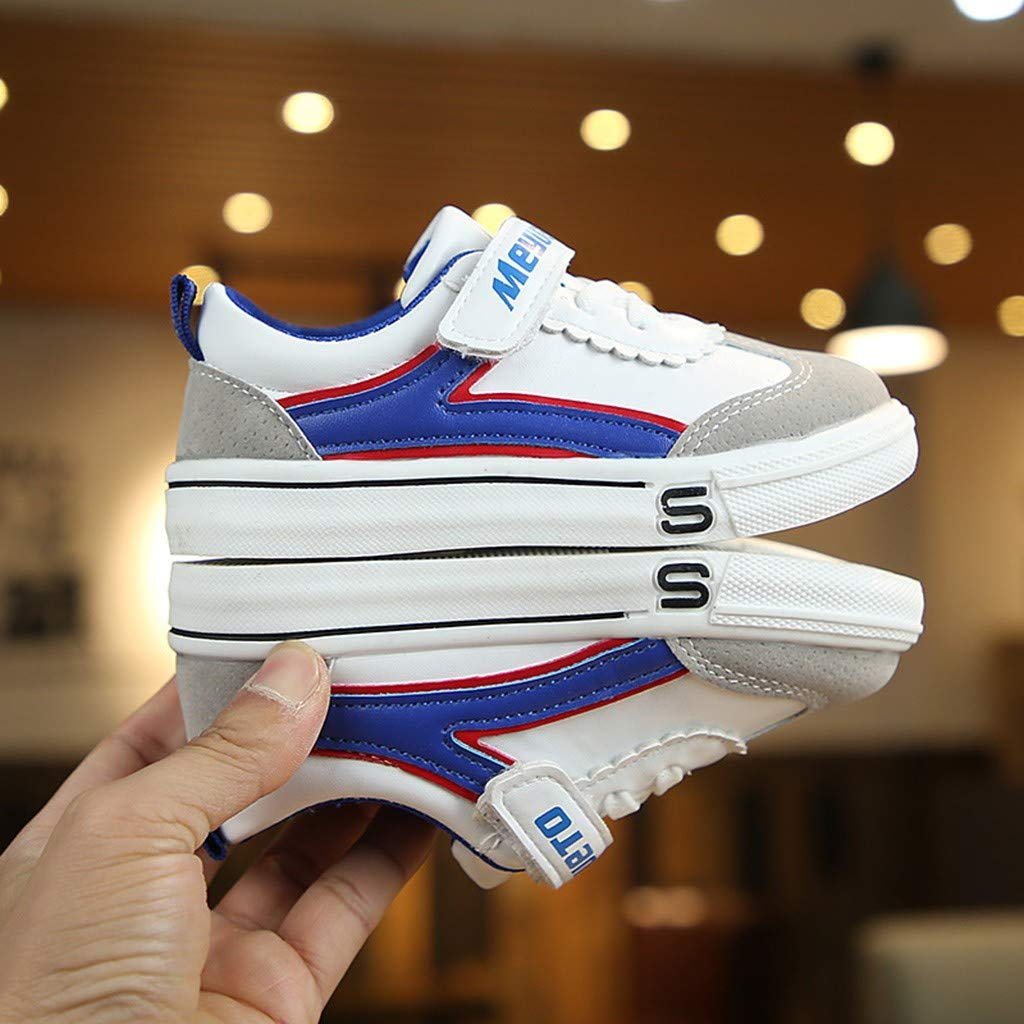 ❤️ Sunbona Children Kids Boys Girls Loafers Flats Summer Anti-Slip Casual Oxfords Mixed Color Flat Sport Shoes Sneakers