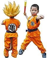 HOLRAN Dragon Ball Z Son GOKU Saiyan cosplay costume Kids Adult uniform