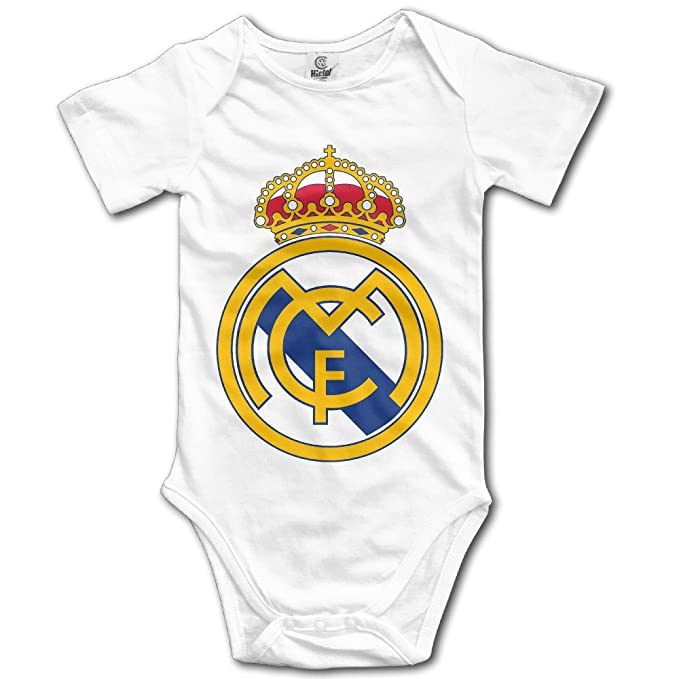 4bbde9f8b Unisex Real Madrid CF Logo Cristiano Ronaldo Baby Onesies Outfits  Sleepwear: Amazon.ca: Clothing & Accessories