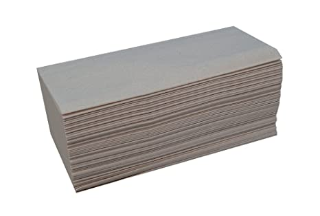 Katrin 100669 básica calidad intercalada Zig Zag toallas de mano, 1 capa, Natural (Pack de 5000): Amazon.es: Industria, empresas y ciencia