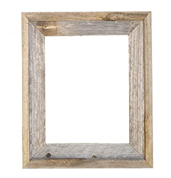 11x14 2 wide signature reclaimed rustic barnwood open frame no glass