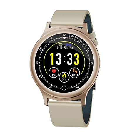 Amazon.com: Smart watches Q28 1.54 inch IP68 180mAh Heart ...