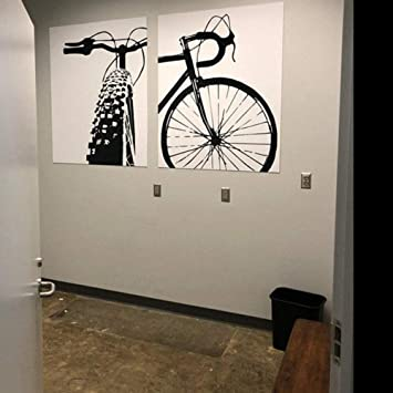 wymhzp 2 Piezas Bicicleta Lienzo Arte Ciclismo Lienzo impresión en ...