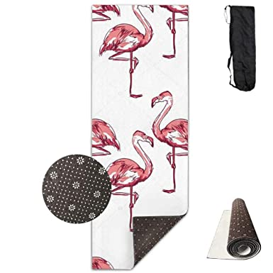 Amazon.com: Flamingo Sketch - Alfombrilla de yoga ...