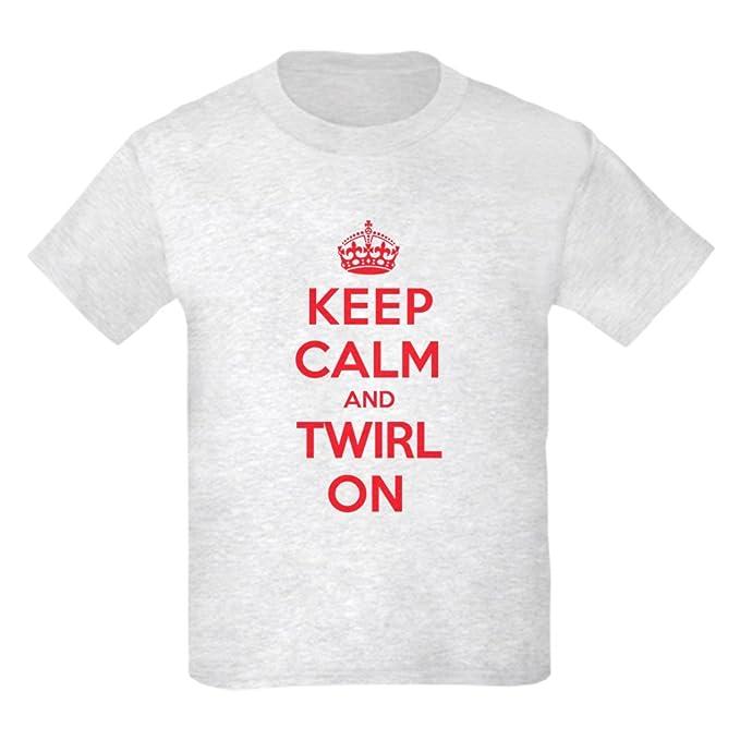 038d0b477 Amazon.com: CafePress - K C Twirl On Kids Light T-Shirt - Kids ...