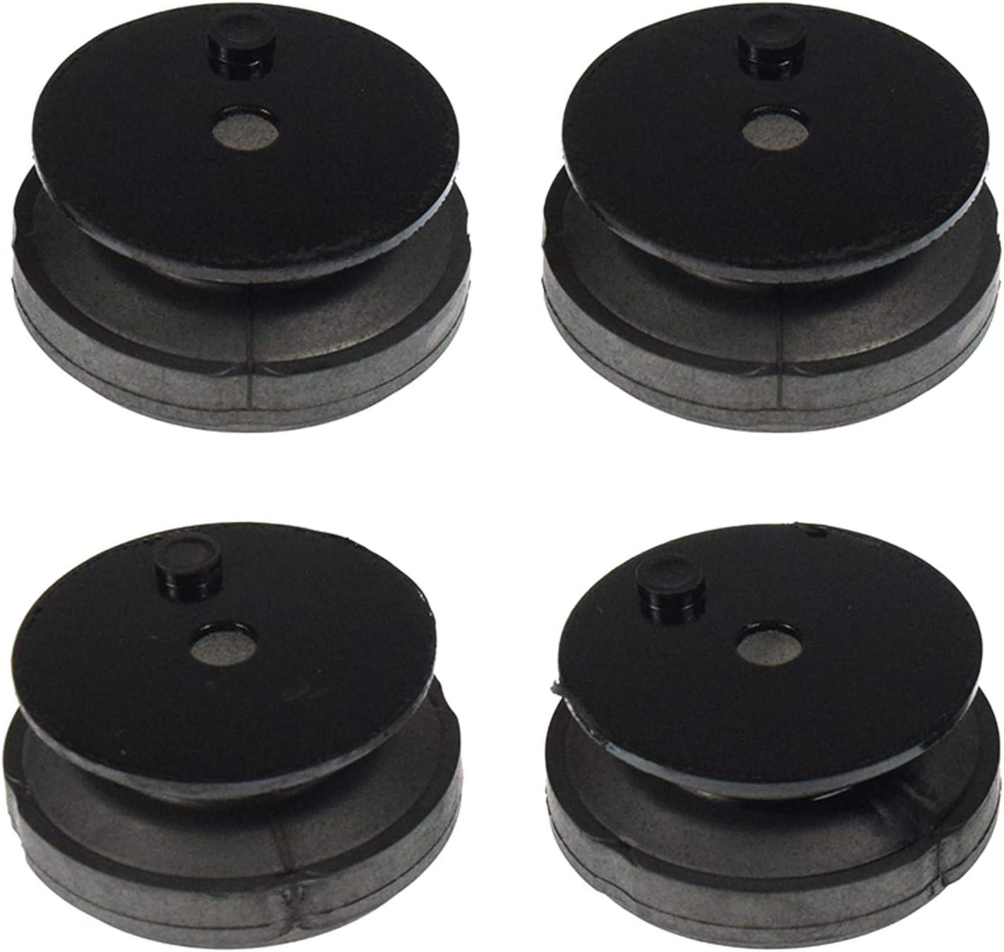4pcs 68325-Z07-003 Generators Lower Rubber Feet Pads EB2000i /& EU2000i for Honda
