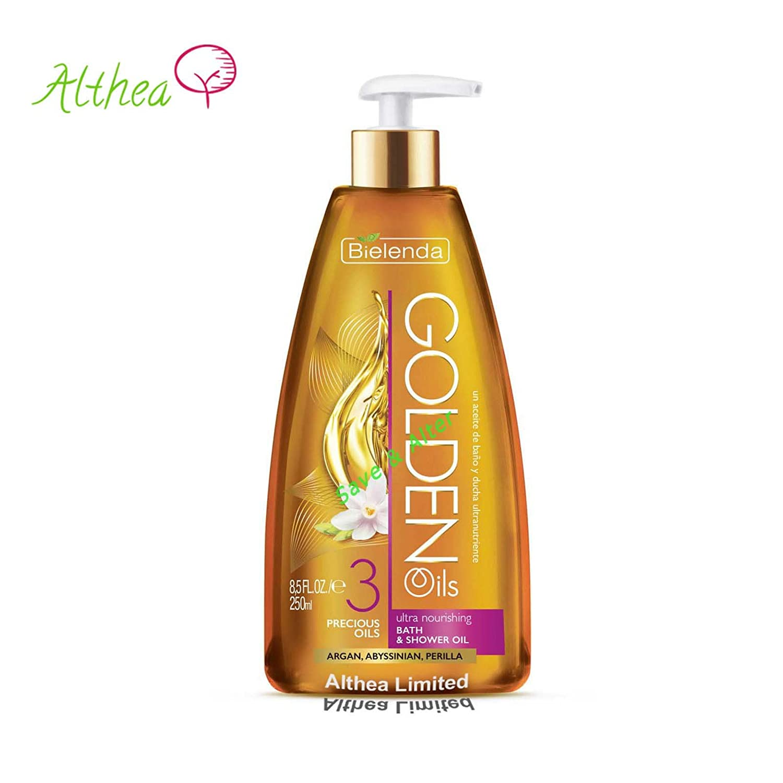 GOLDEN OILS Ultra Nourishing Body Bath Shower ARGAN Perilla Bielenda